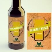 KIT para produção de 20 litros de cerveja do estilo Berliner Weisse