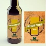 KIT para produção de 20 litros de cerveja do estilo American Pilsner