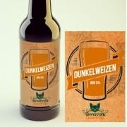 KIT para produção de 20 litros de cerveja do estilo Dunkelweizen