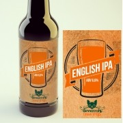 KIT para produção de 20 litros de cerveja do estilo English IPA