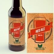 KIT para produção de 20 litros de cerveja do estilo Irish Red Ale