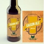 KIT para produção de 20 litros de cerveja do estilo Saison Ale