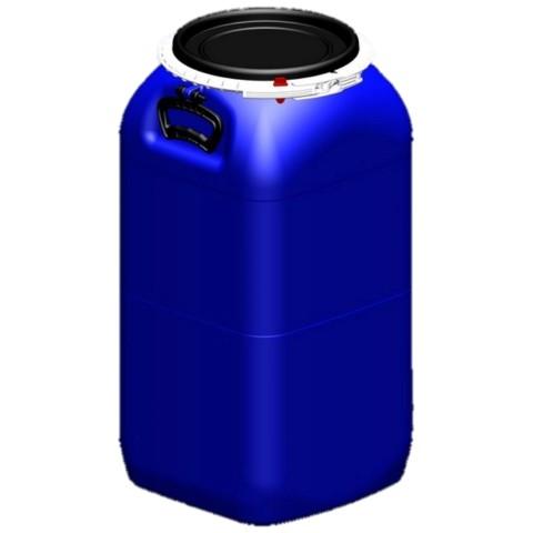 Bombona Plast. 60 lts Homologada com torneira extratora
