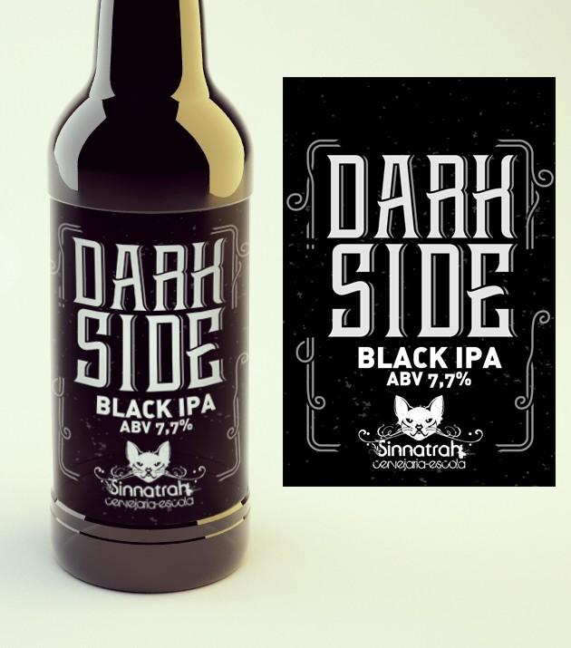 KIT para produção de 20 litros de cerveja Dark Side BlackIPA