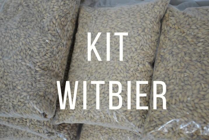 KIT para produção de 20 litros de cerveja do estilo Belgian Witbier
