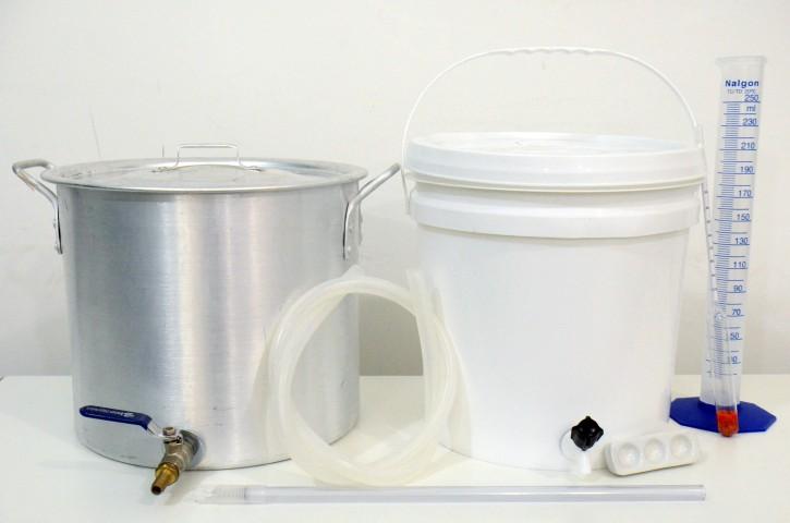 Kit Completo para produção de cerveja Sinnatrah 10l