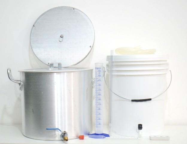 Kit Completo para produção de cerveja Sinnatrah 20l