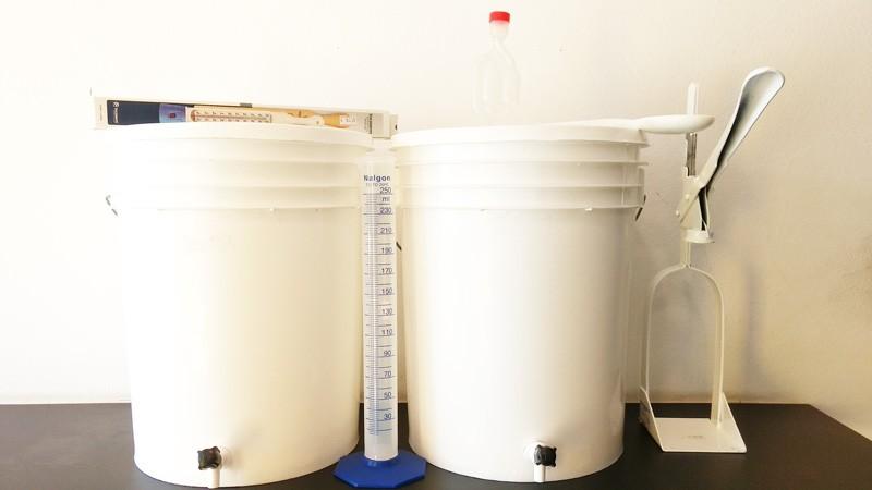 Kit iniciante para produção de Hidromel (20 litros)