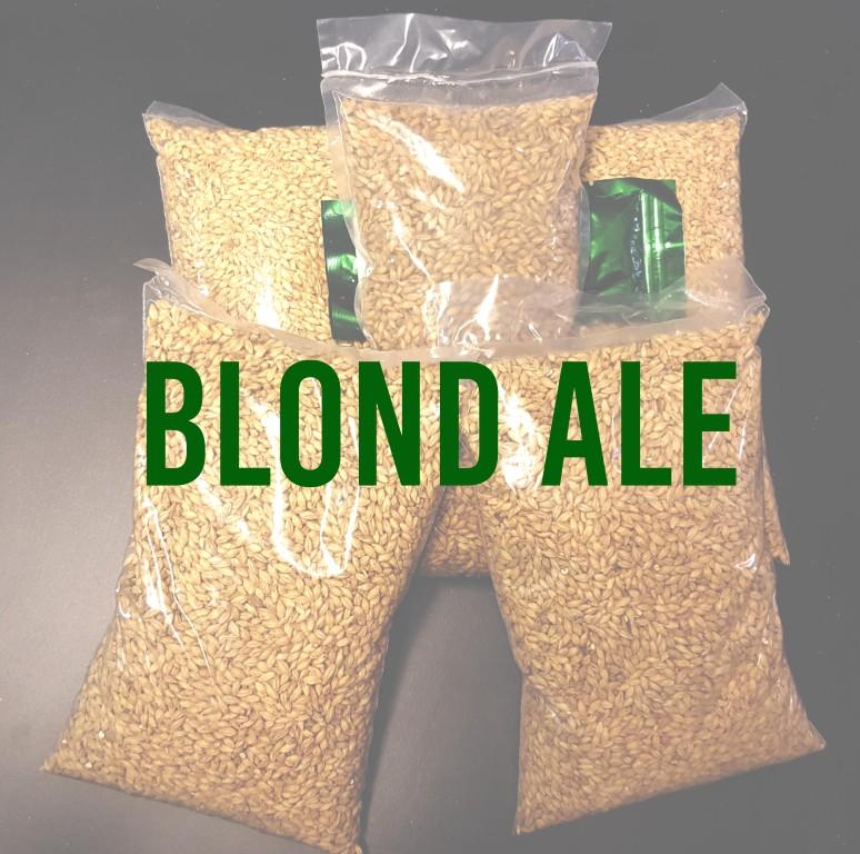 KIT para produção de 20 litros de cerveja do estilo American Blond Ale