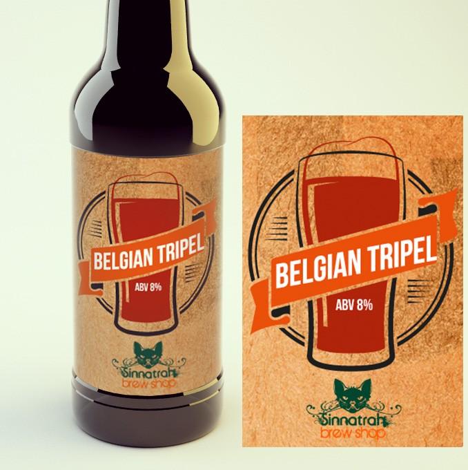 KIT para produção de 20 litros de cerveja do estilo Belgian Tripel