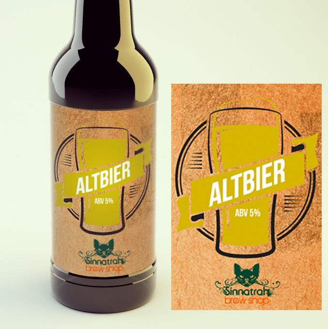 KIT para produção de 20 litros de cerveja do estilo Dusseldorf Altbier