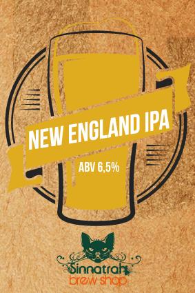 KIT para produção de 20 litros de cerveja do estilo New England IPA