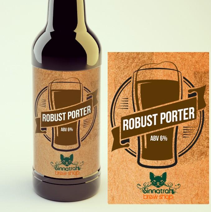 KIT para produção de 20 litros de cerveja do estilo Robust Porter