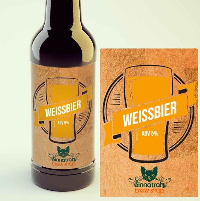 KIT para produção de 20 litros de cerveja do estilo Weissbier (trigo)