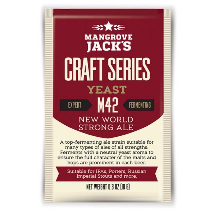 Levedura Mangrove Jacks m42 New World Strong Ale - 10g