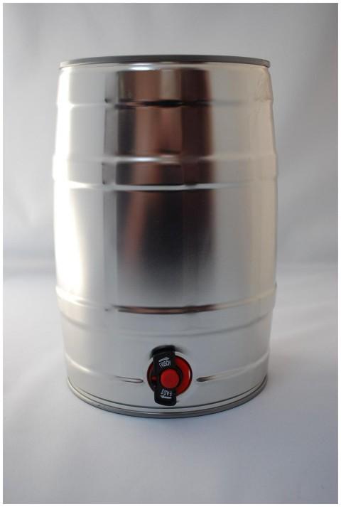 Mini Keg de 5L com torneira