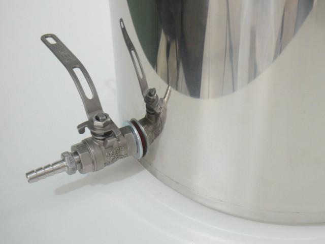 Panela de Inox nº 35 capacidade 30L com Válvula Extratora de 3/8