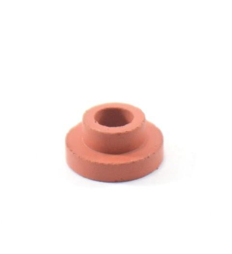 Rolha de borracha vermelha para airlock (pequena)