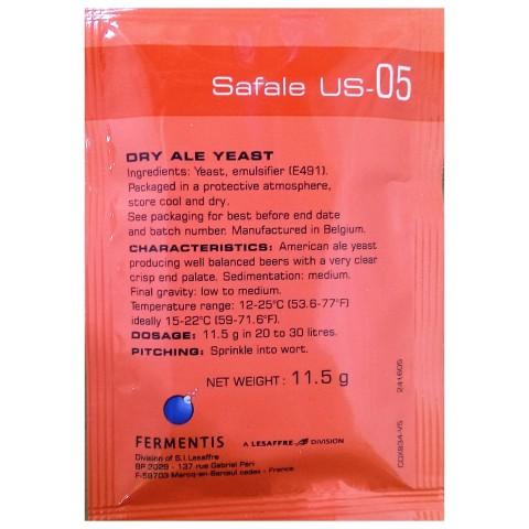 Levedura Safale US-05