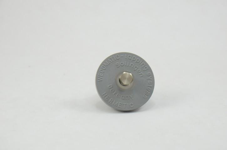 Tampão de Borracha com Alívio de pressão p/Mini Keg 5L (Reutilizável)