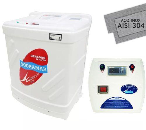 Gerador De Vapor Para Sauna Sodramar 18 Kw Quadro Digital