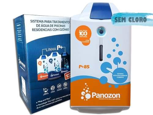 Tratamento De Água Com Ozônio Para Piscina P+85 Panozon 85 Mil Litros