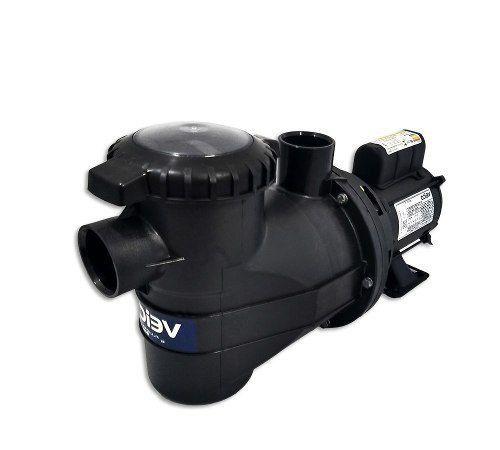 Kit Completo Para Piscina Filtro V-20 Bomba 1/4 Cv Veico Até 19 Mil Litros + Dispositivos