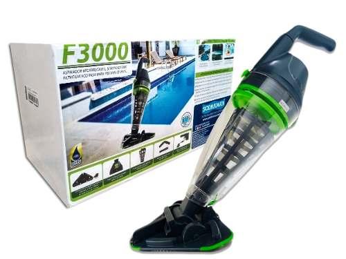 Aspirador Para Piscinas e Spas Automático F-3000 C/bateria Recarregável Sodramar