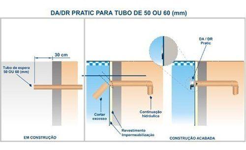 Kit 1 Dispositivo Aspiração 2 Retorno Aço Inox Linha Premium Para Piscina Sodramar
