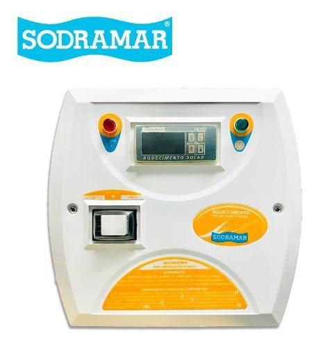 Controlador Temperatura Digital Cdt Aquecimento Solar Para Piscina Sodramar