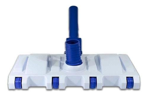 Aspirador Para Limpeza De Piscina 8 Rodas Bocal Articulado - Brustec