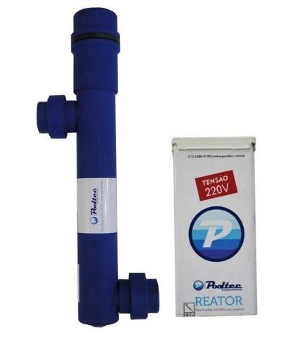 Tratamento De Agua Ultra Violeta Para Piscina 95w 18,5m³/h Pooltec