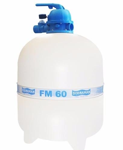 Filtro Para Piscina Fm 60 Sodramar Até 119 Mil Litros