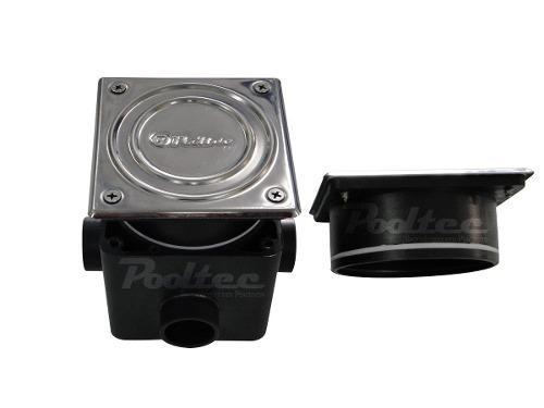 Kit Iluminação para Piscina 2 Led 65 ABS RGB Colorido + Comando  e Controle Remoto + Caixa de Passagem - Até 18 m²