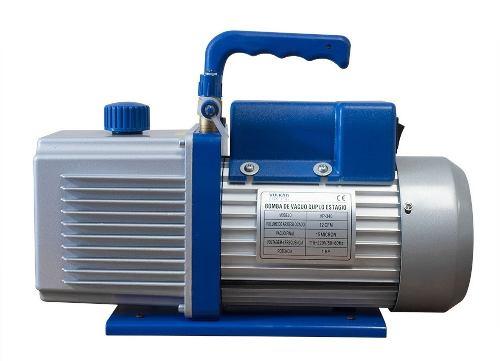 Bomba De Vacuo Vulkan Vp-200 7 Cfm Duplo Estágio Bivolt Para Ar Condicionado