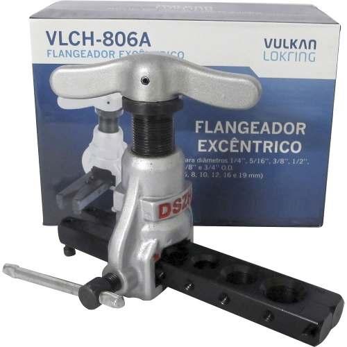 Flangeador de Tubos Excêntrico 1/4'' á 3/4'' Vulkan VLCH-806