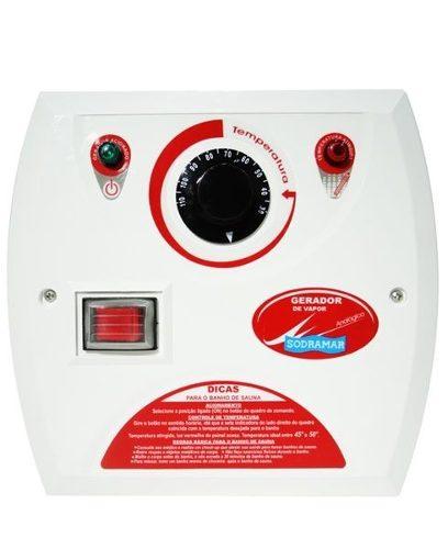 Forno Eletrico Sauna Seca Sodramar 7,5 Kw  + Quadro Analógico