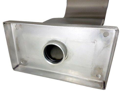 Cascata Para Piscina Naja High Tech em Aço Inox 304 com Boca De 29 Cm