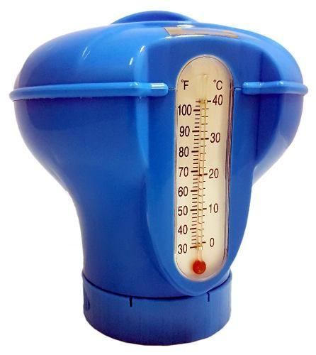 Clorador Flutuante Com Termômetro Para Piscina Sodramar