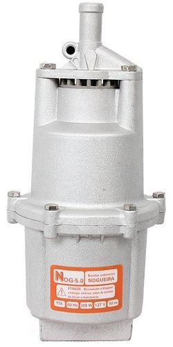 Bomba D´agua Submersa Vibratória1400/hora Nog 5.0 300w