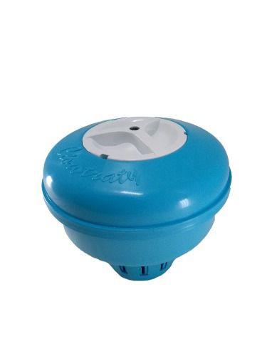 Clorador Flutuante Para Piscina + 04 Pastilha De Cloro 200g Limper