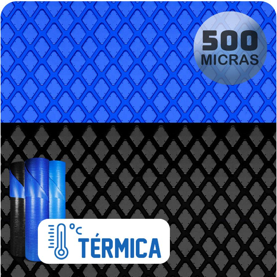 Capa Térmica Para Piscina 9,1 X 4,0 E 3,0 X 2,0m 500 Micras