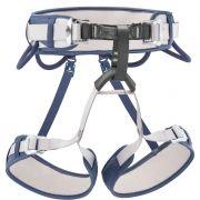Cadeirinha Corax Azul Jeans Escalada Rapel CE UIAA Petzl