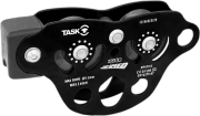 Polia para Tirolesa ZipSpeed Tandem Rolamentada Corda até 13mm Cabo até 13mm Com Absorvedor de Impacto CE ISC Task