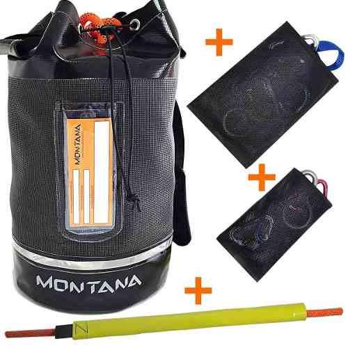Mochila Para Corda e Equipamentos Kit160 20l Montana