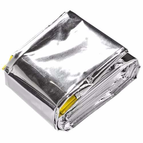 Saco De Dormir De Alumínio Emergência Sobrevivência Guepardo