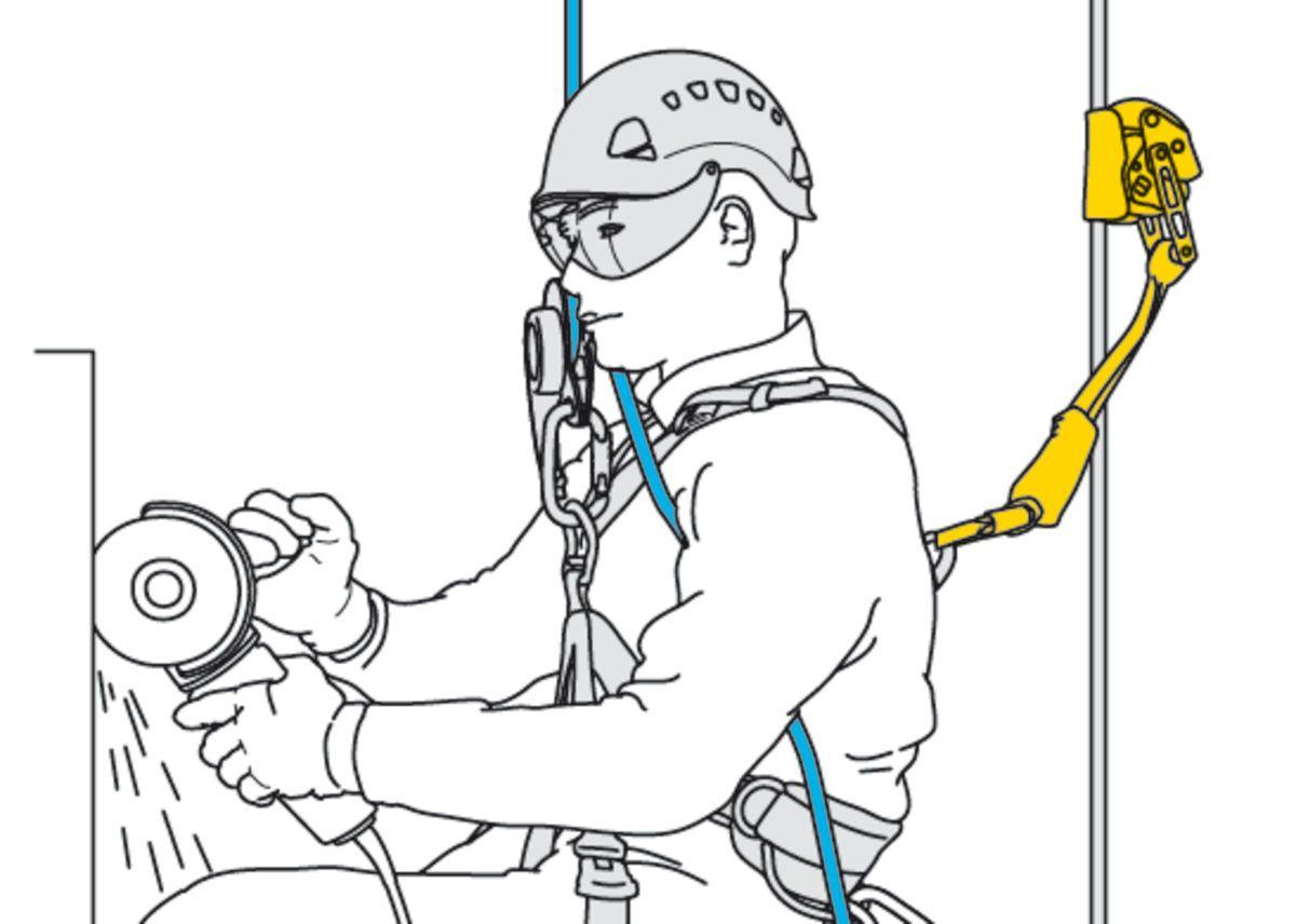 Absorvedor de Energia para Trava Quedas Asap 40cm  Asap Sorber Petz