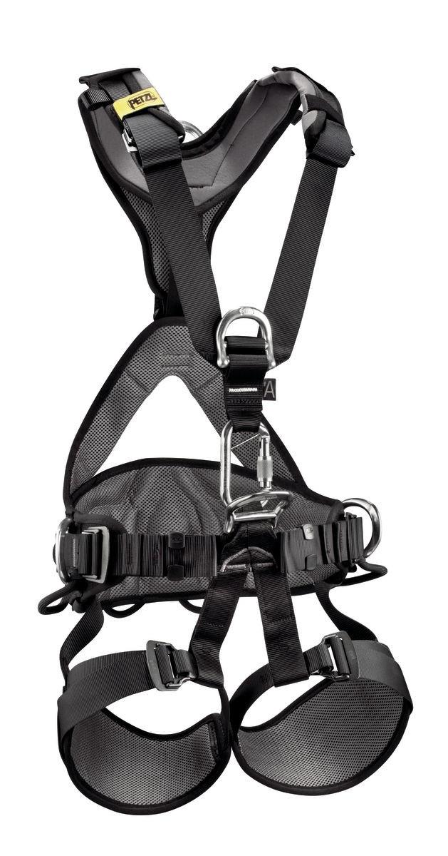 Cinturão Paraquedista Profissional Avao Bod com CA Petzl