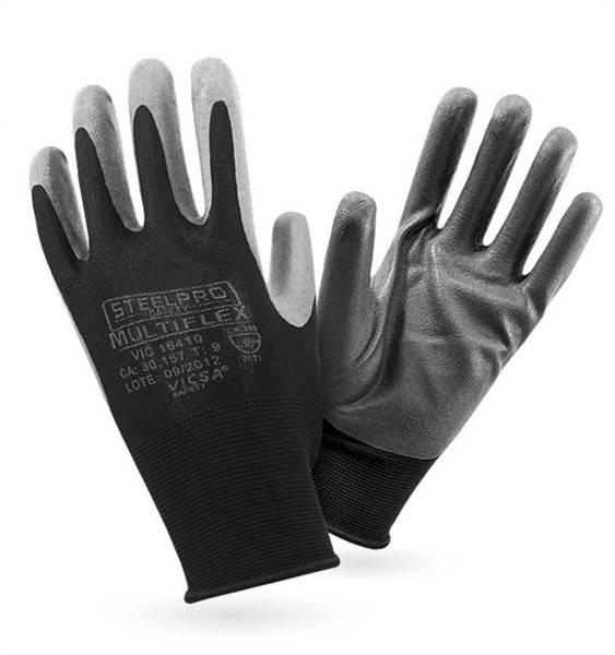 Luva de Segurança Multiflex Opti-Hand Antiderrapante Vicsa