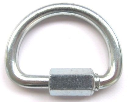 Malha Rápida formato D Meia Lua 10mm Mailon Usclimb